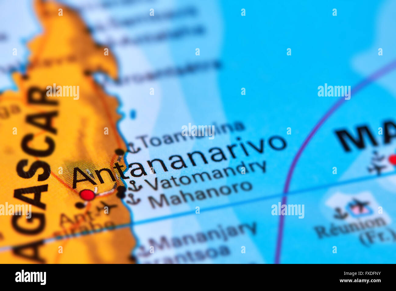 Antananarivo capital city of madagascar on the world map stock antananarivo capital city of madagascar on the world map gumiabroncs Images