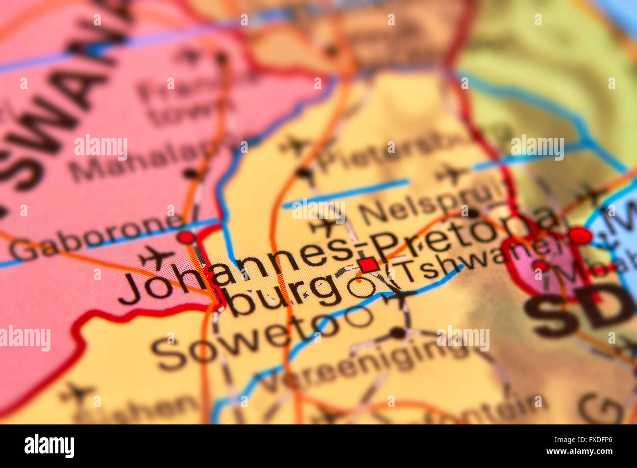 Johannesburg city in south africa on the world map stock photo johannesburg city in south africa on the world map gumiabroncs Choice Image