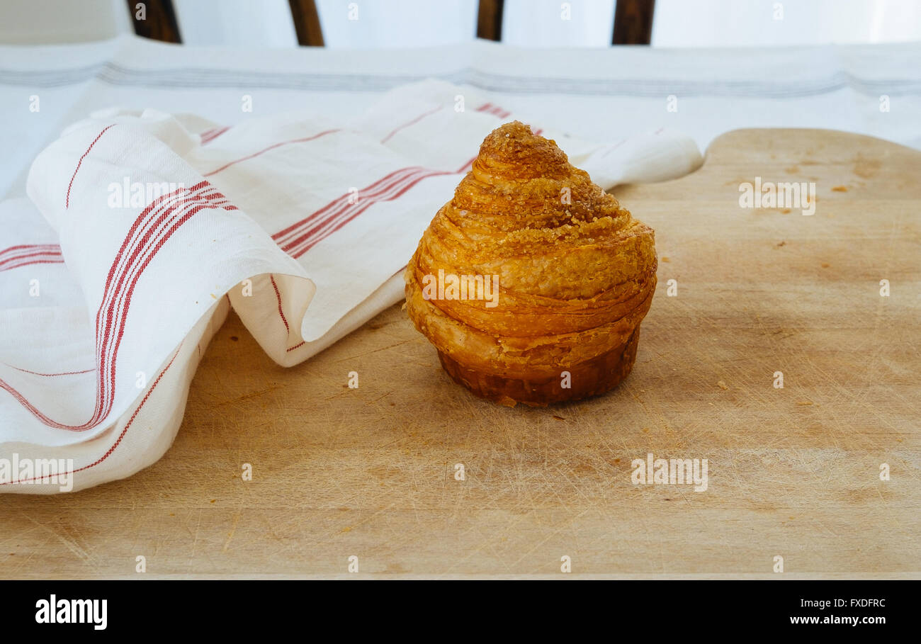 French breakfast pastry - Stock Image
