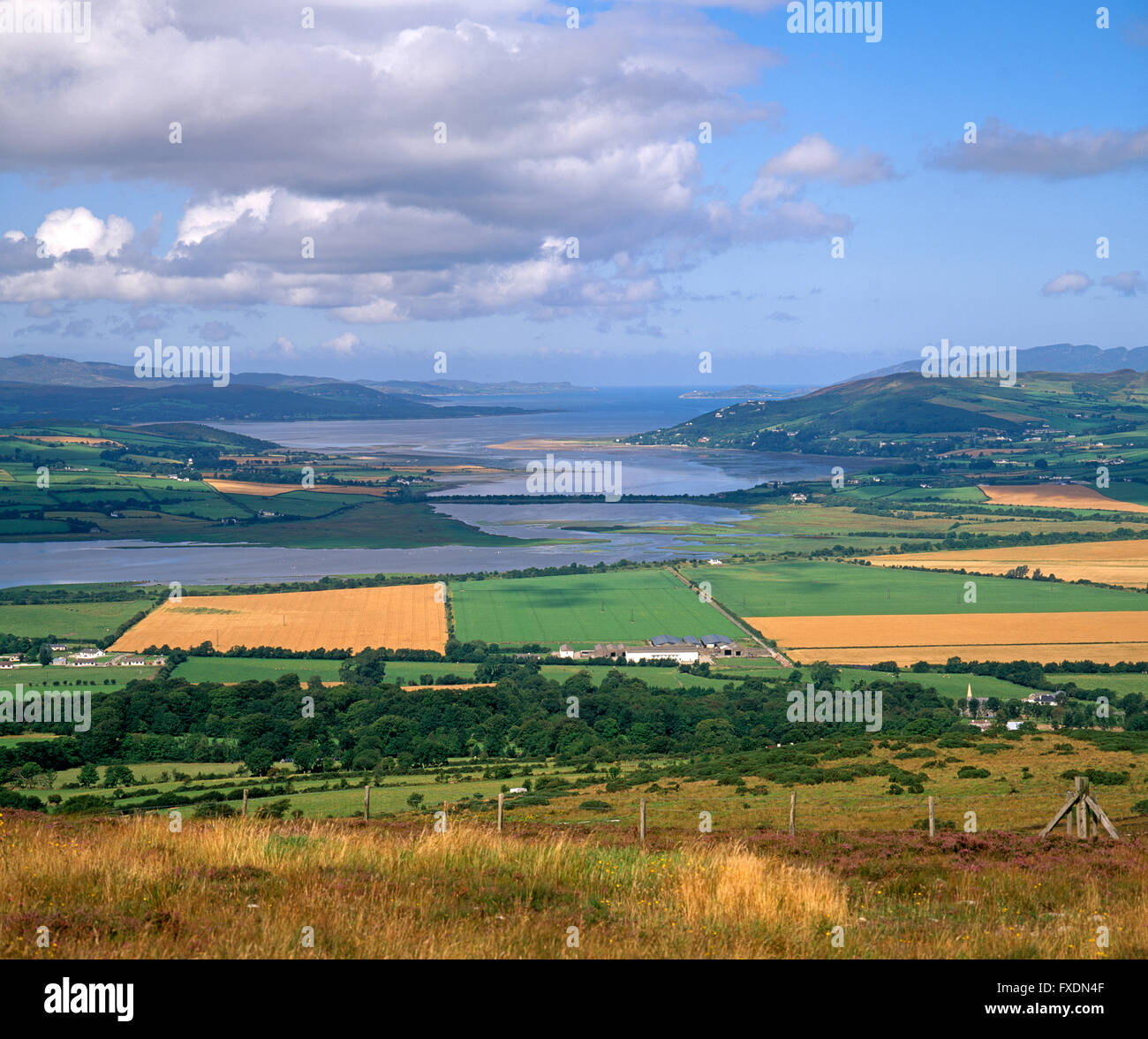 Lough Swilly, Donegal, Ireland - Stock Image