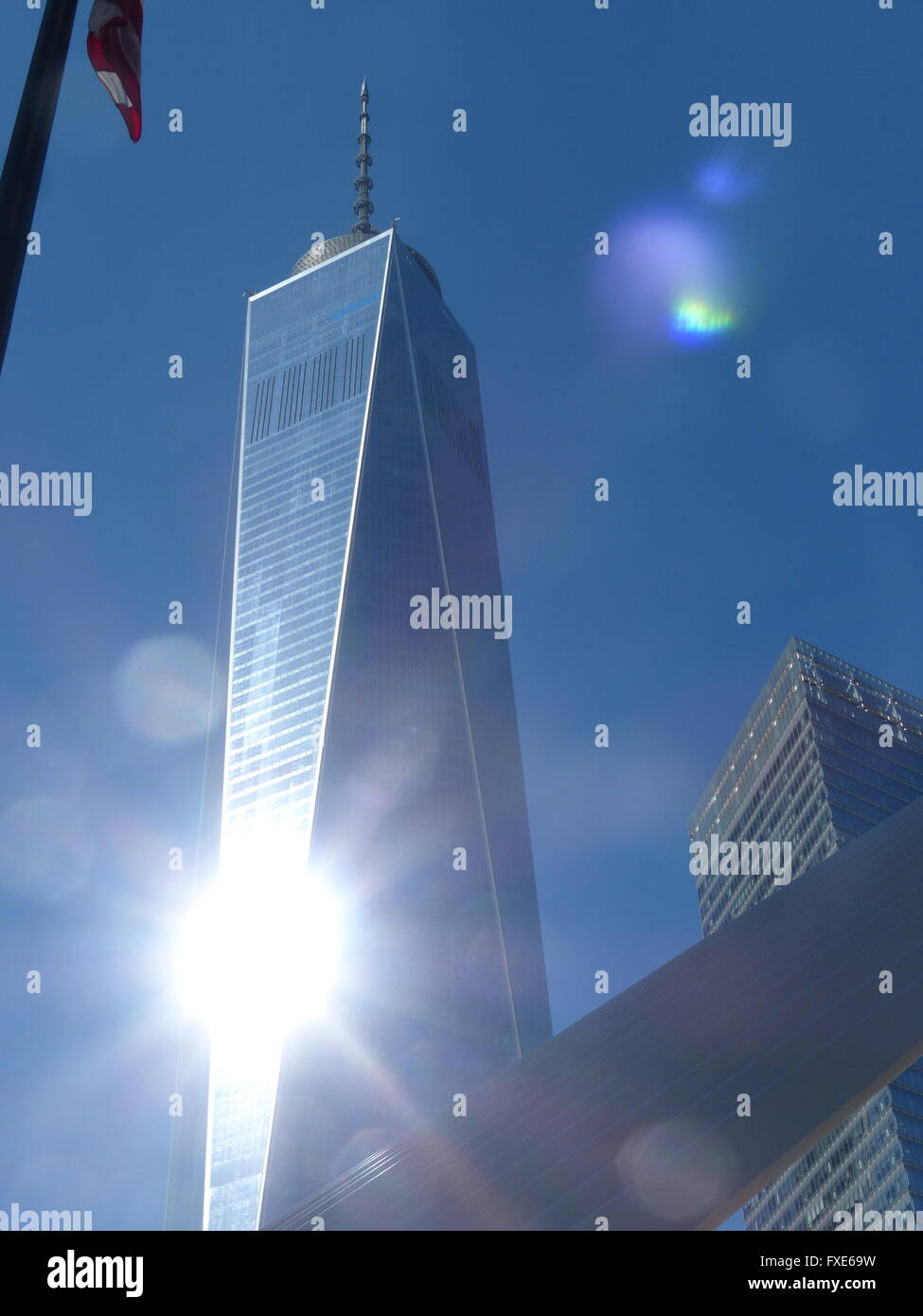 One World Trade Center, formerly Freedom Tower, designed by Architect David Childs - Stock Image