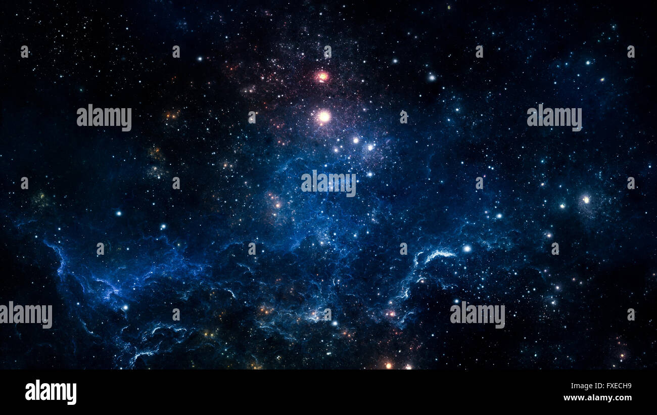 Background 5k image was made by telescope - Stock Image