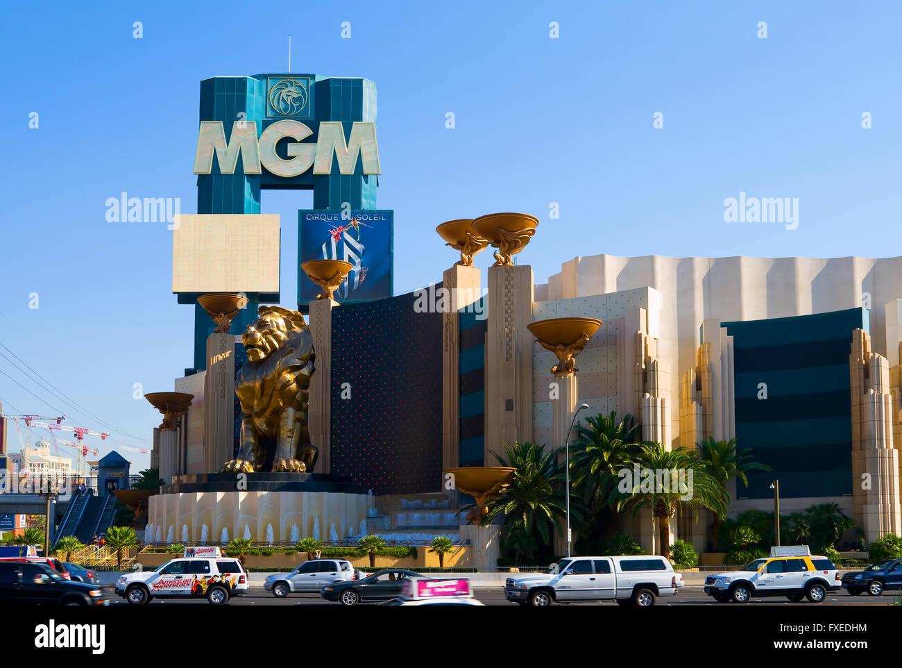 MGM Casino in Las Vegas - Stock Image