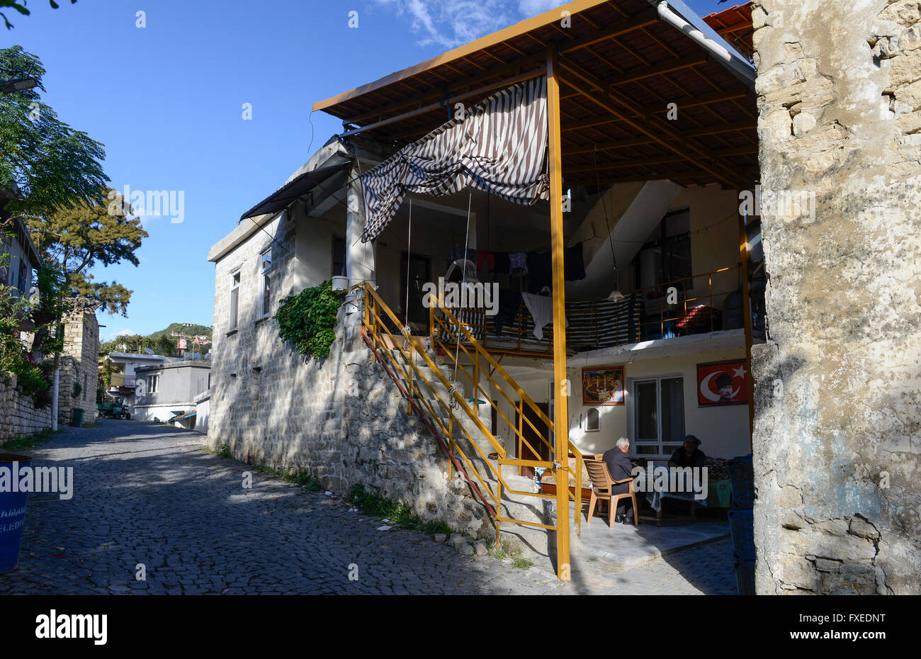 TURKEY Antakya, Musa Dagh, former armenian village Hidirbey, about 4000 armenian villagers fled during the genocide - Stock Image