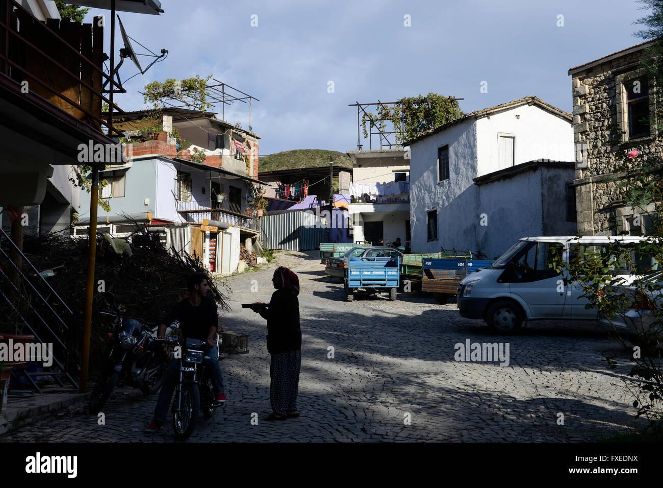 TURKEY Antakya, Musa Dagh, former armenian village Hidirbey, about 4000 armenian villagers fled during the genocide - Stock Image
