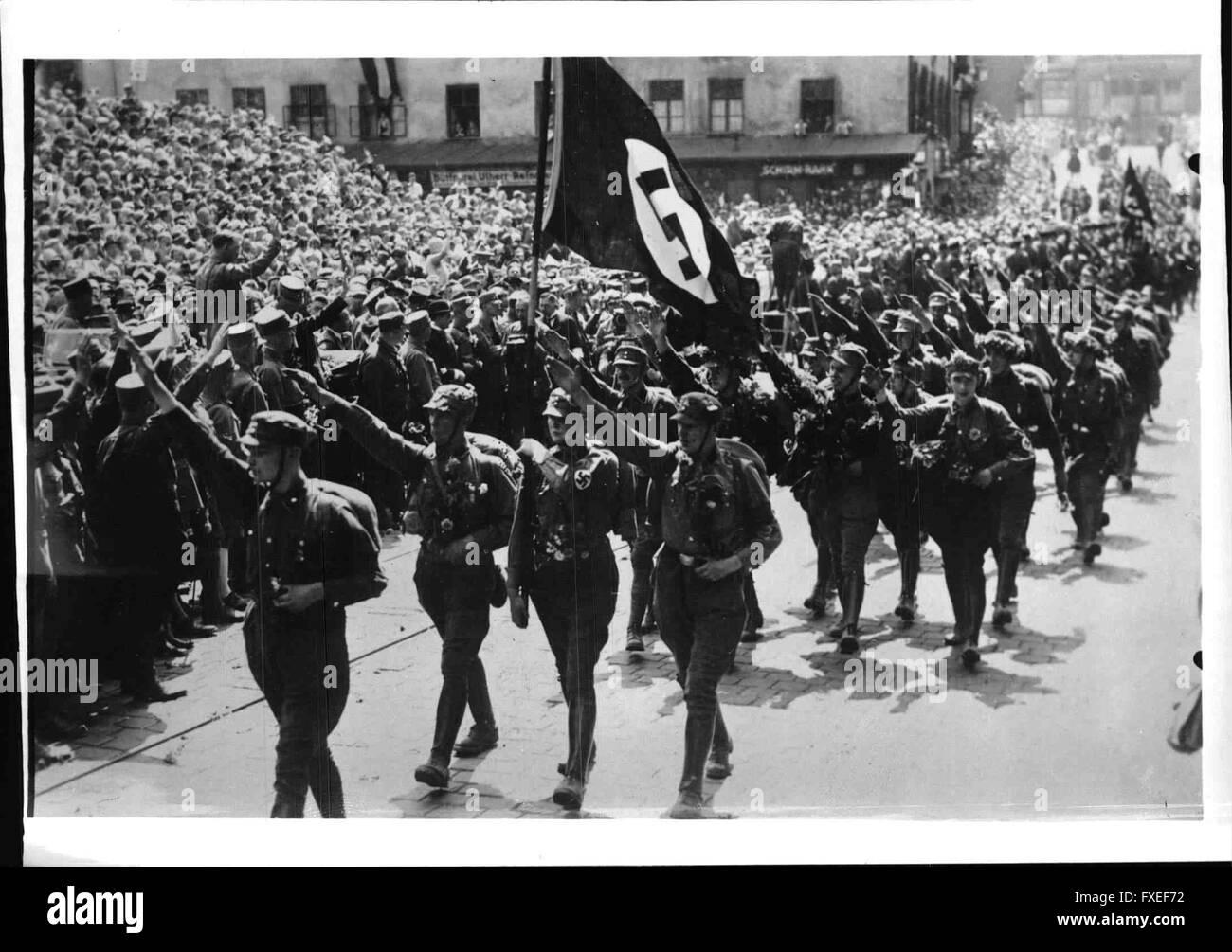 Reichsparteitag 1929 - Stock Image