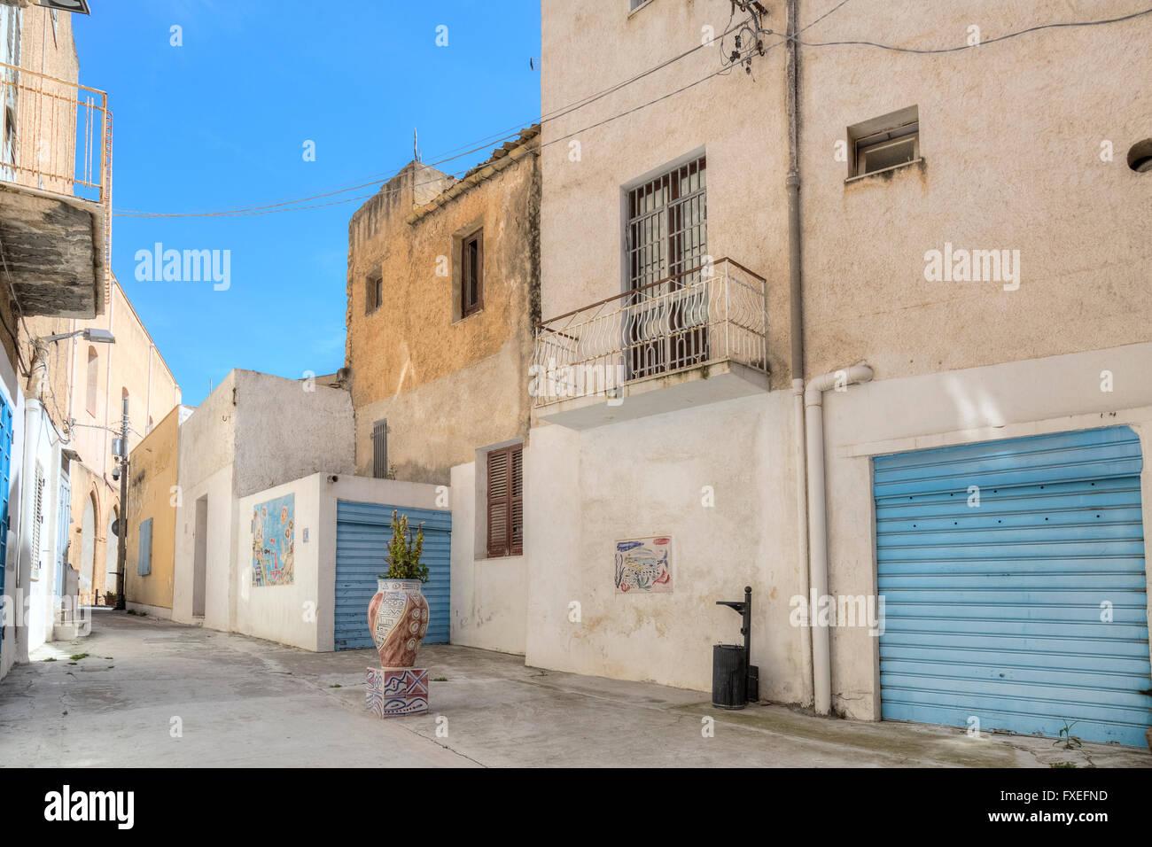 Mazara del Vallo, Kasbah, Sicily, Italy - Stock Image