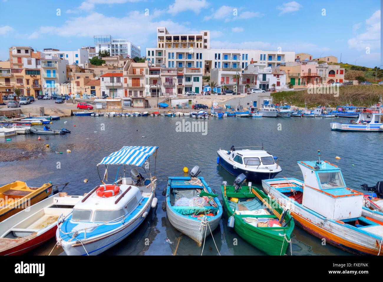 Marinella di Selinunte, Castelvetrano, Sicily, Italy - Stock Image