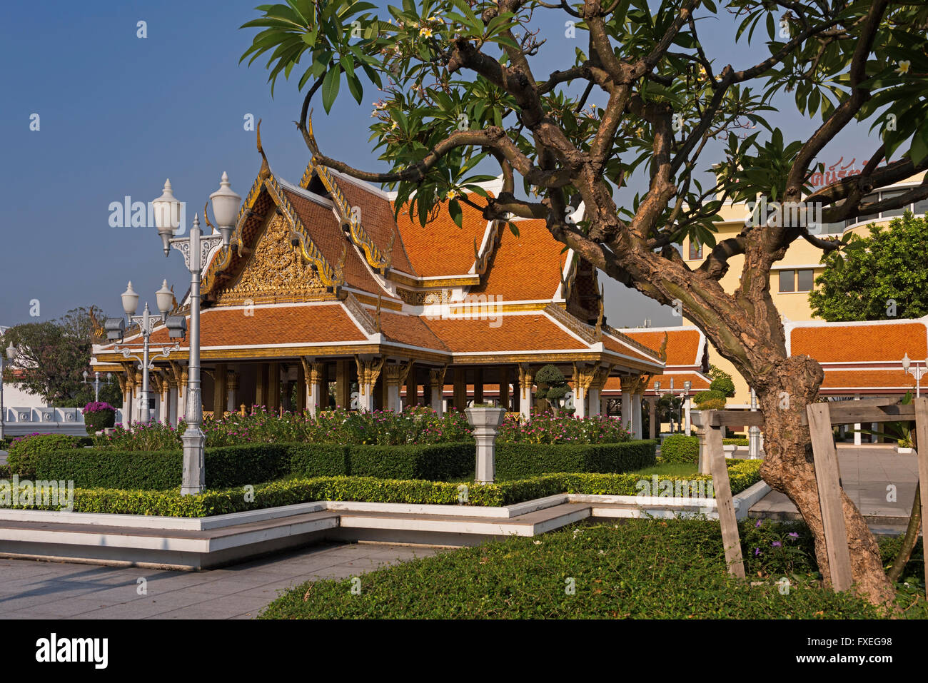 Wat Ratchanatdaram Bangkok Thailand - Stock Image