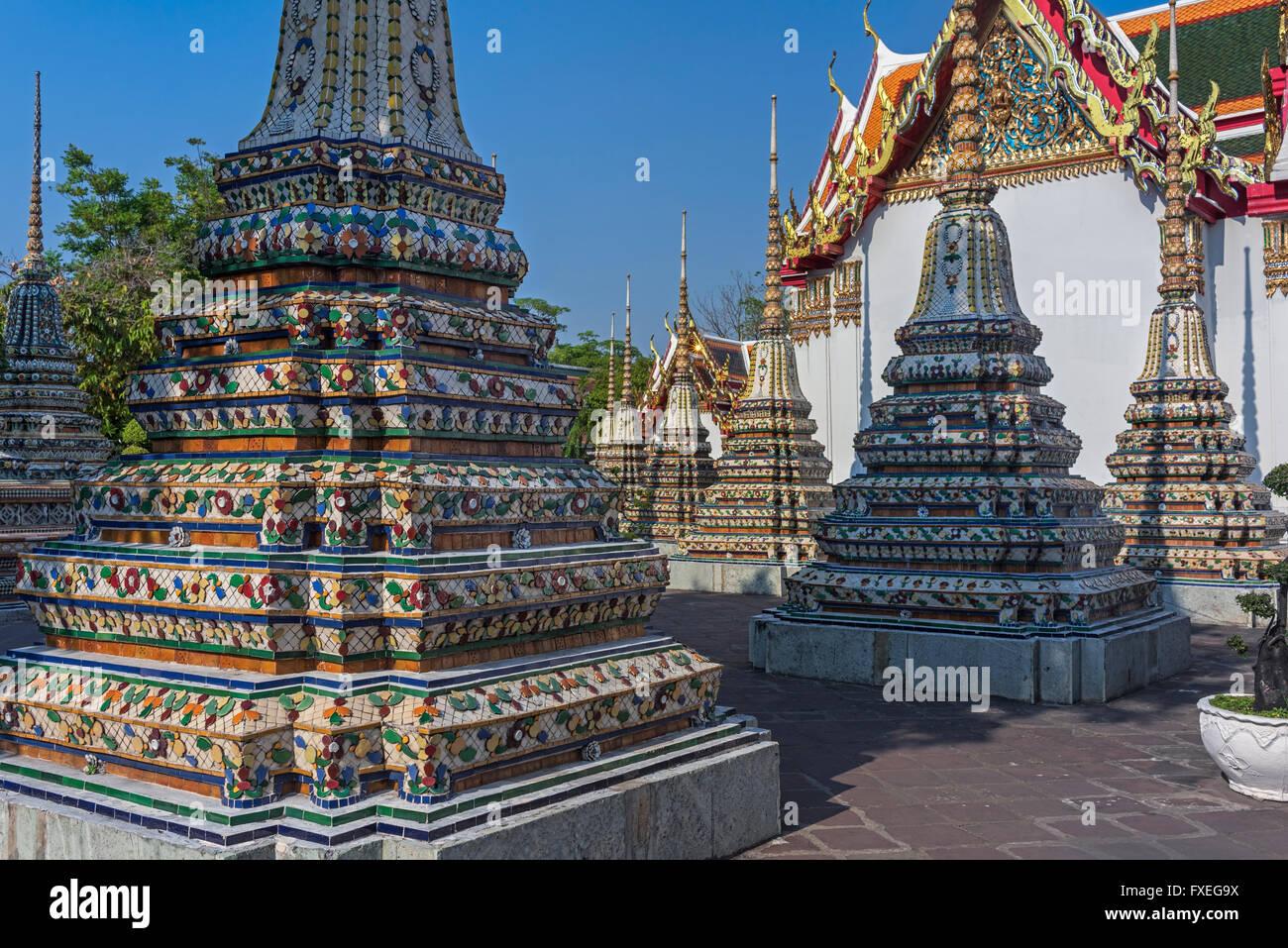 Wat Pho Bangkok Thailand - Stock Image
