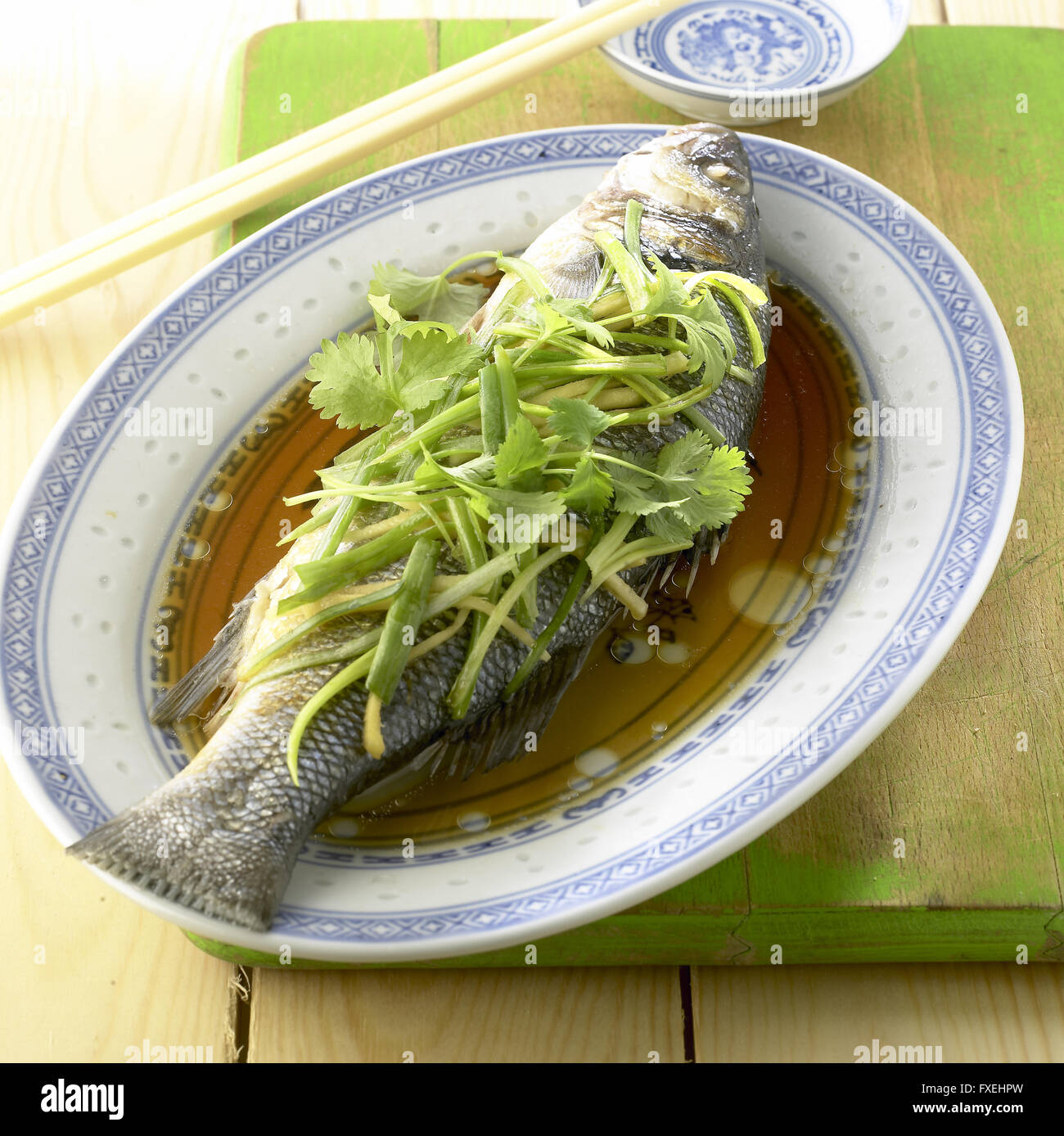 Watch Steamed Sea Bass with Ginger Recipe video