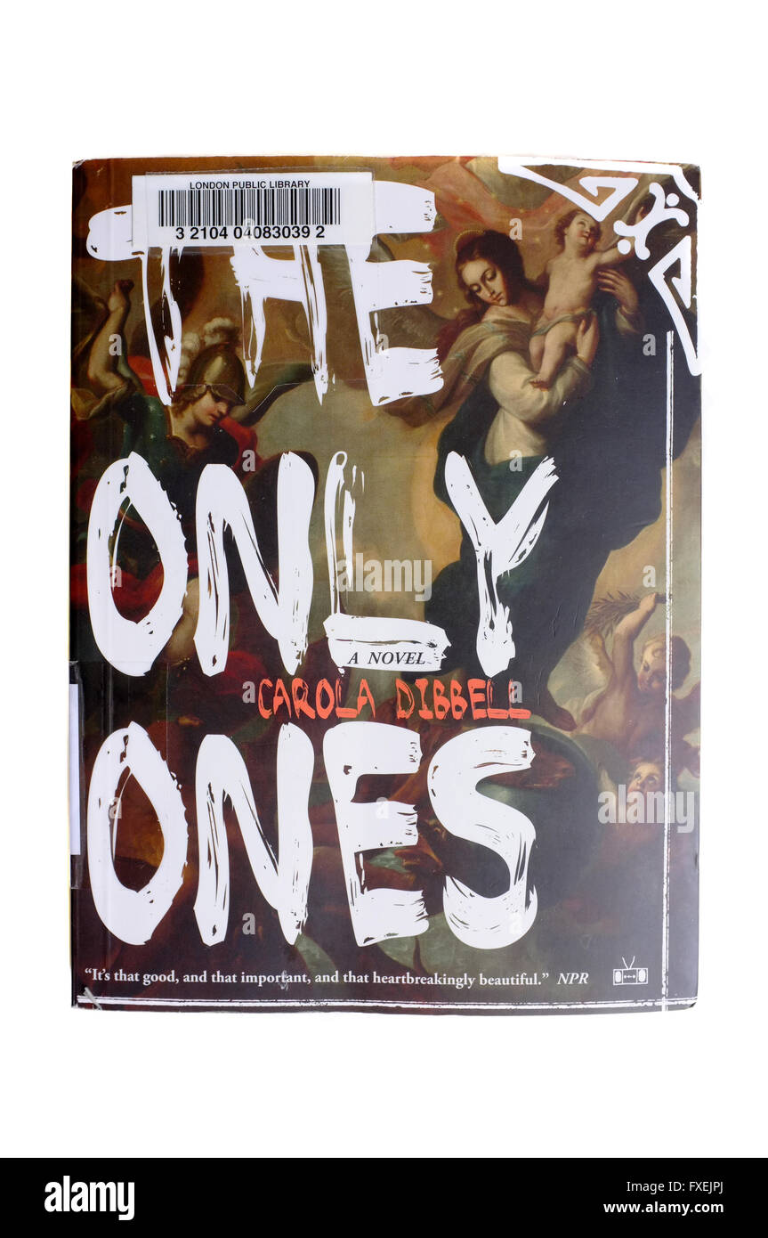 The front cover of The Only Ones by Carola Dibbell photographed against a white background. - Stock Image