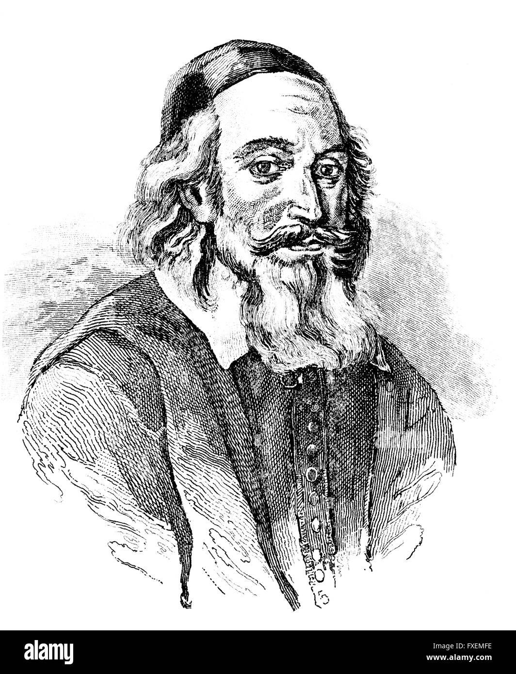Axel Gustafsson Oxenstierna af Södermöre, 1583-1654, Count of Södermöre, a Swedish statesman, Graf Axel Gustafsson Stock Photo