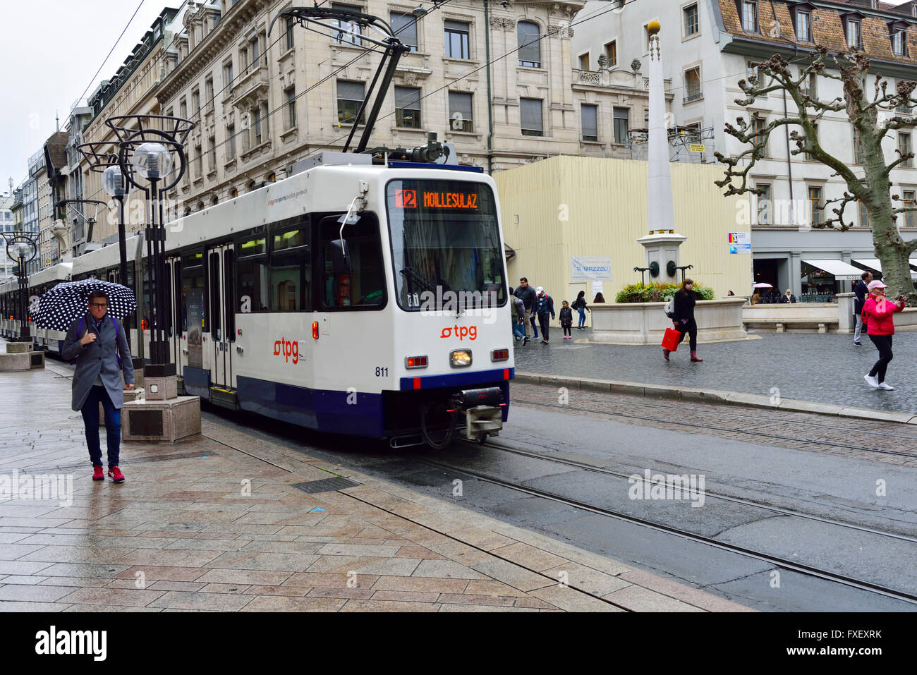 electric tram stock photos electric tram stock images alamy. Black Bedroom Furniture Sets. Home Design Ideas