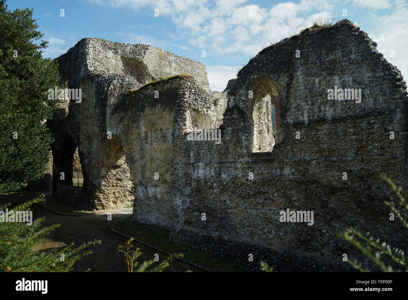 Abbey Ruins, Reading, Berkshire -1 - Stock Image