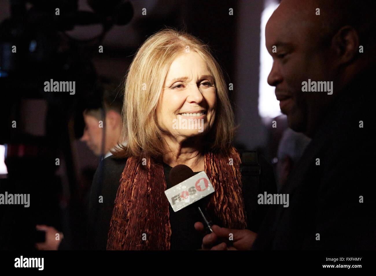 Gloria Steinem Where Stock Photos & Gloria Steinem Where