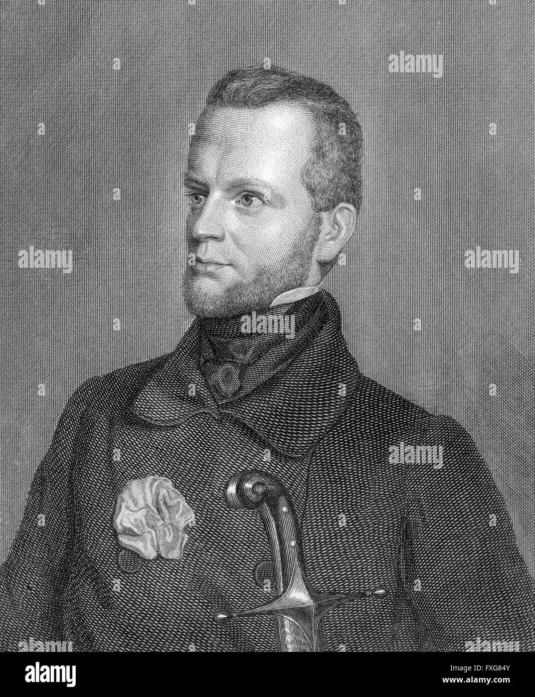 Carl Giskra, 1820-1879, a statesman of the Austrian Empire - Stock Image