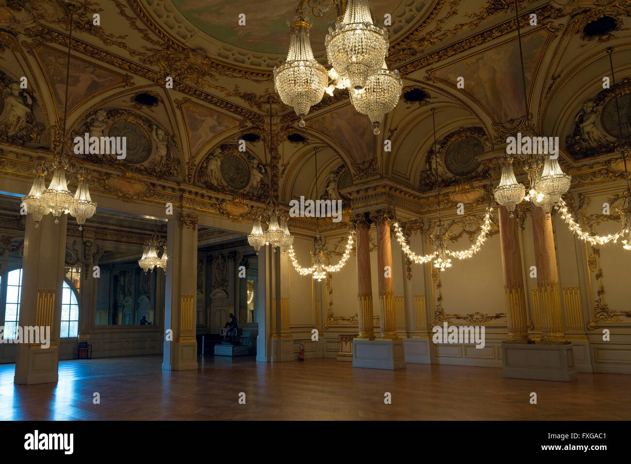 Salle des Fetes, Festival Hall, Musee D'Orsay, Paris, France, Europe - Stock Image