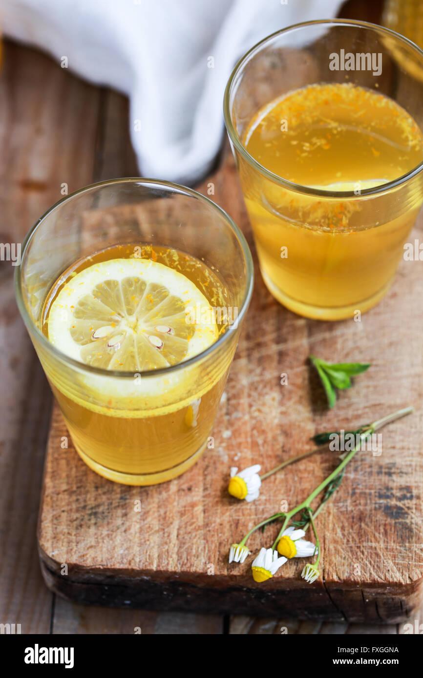 Homemade lemonade - Stock Image