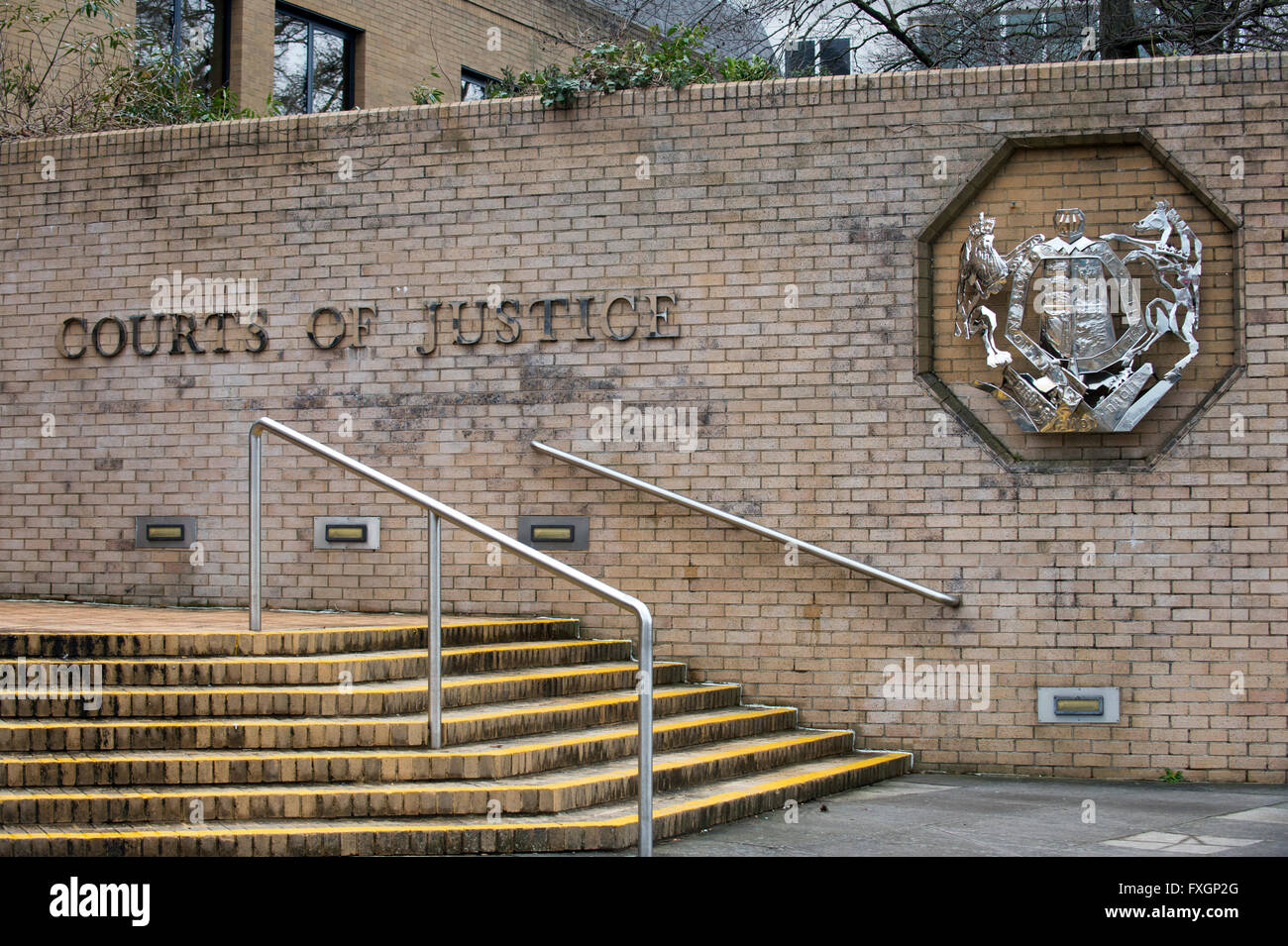 Southampton Crown Court, Hampshire, England, United Kingdom - Stock Image