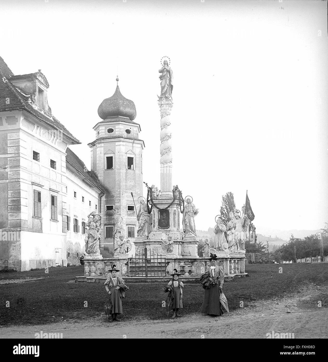Vorau - Stock Image
