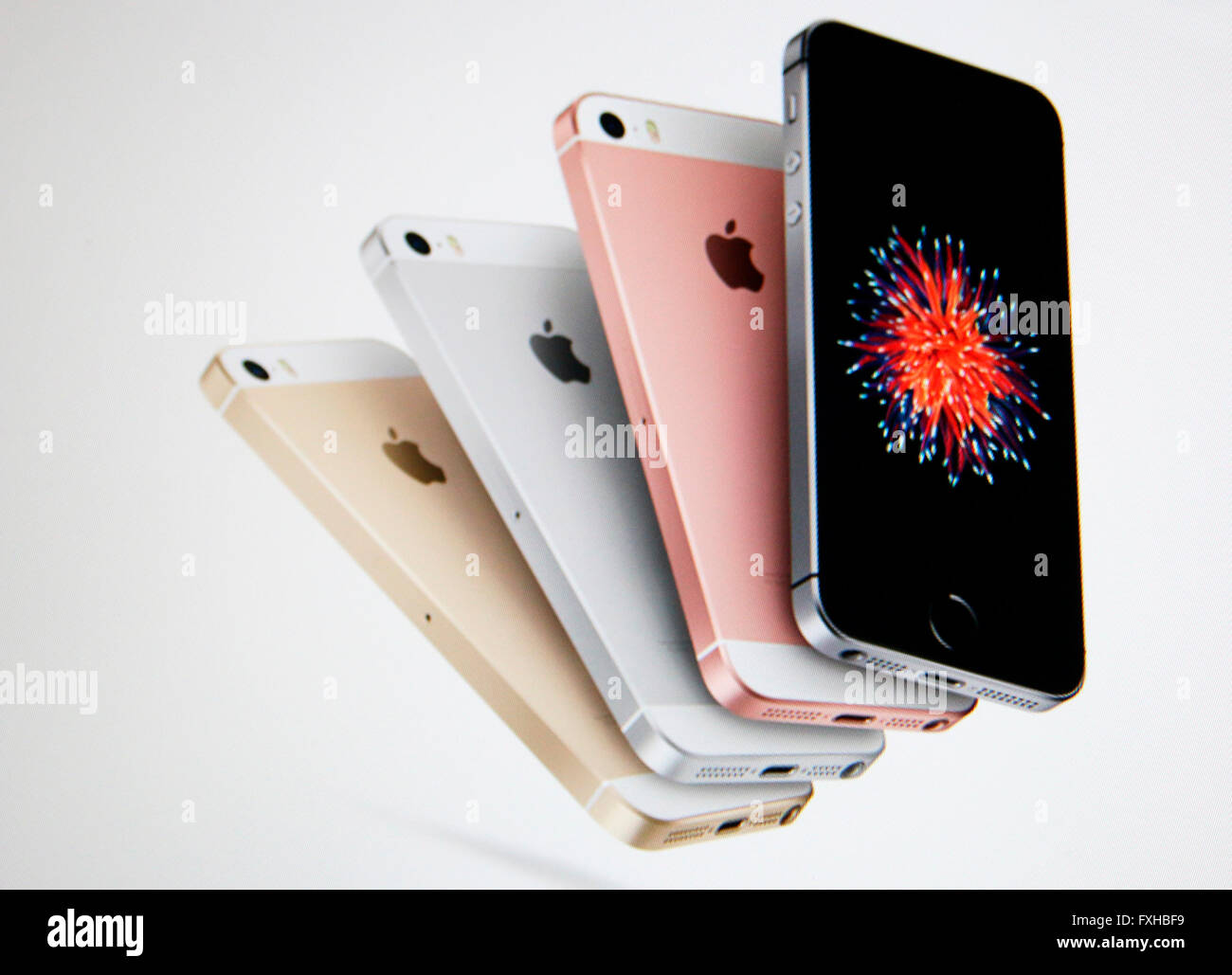 iPhone SE - Stock Image