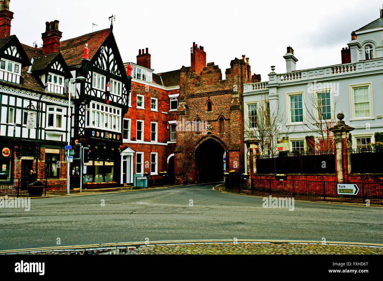 North Bar Without, Beverley, East Riding Yorkshire - Stock Image