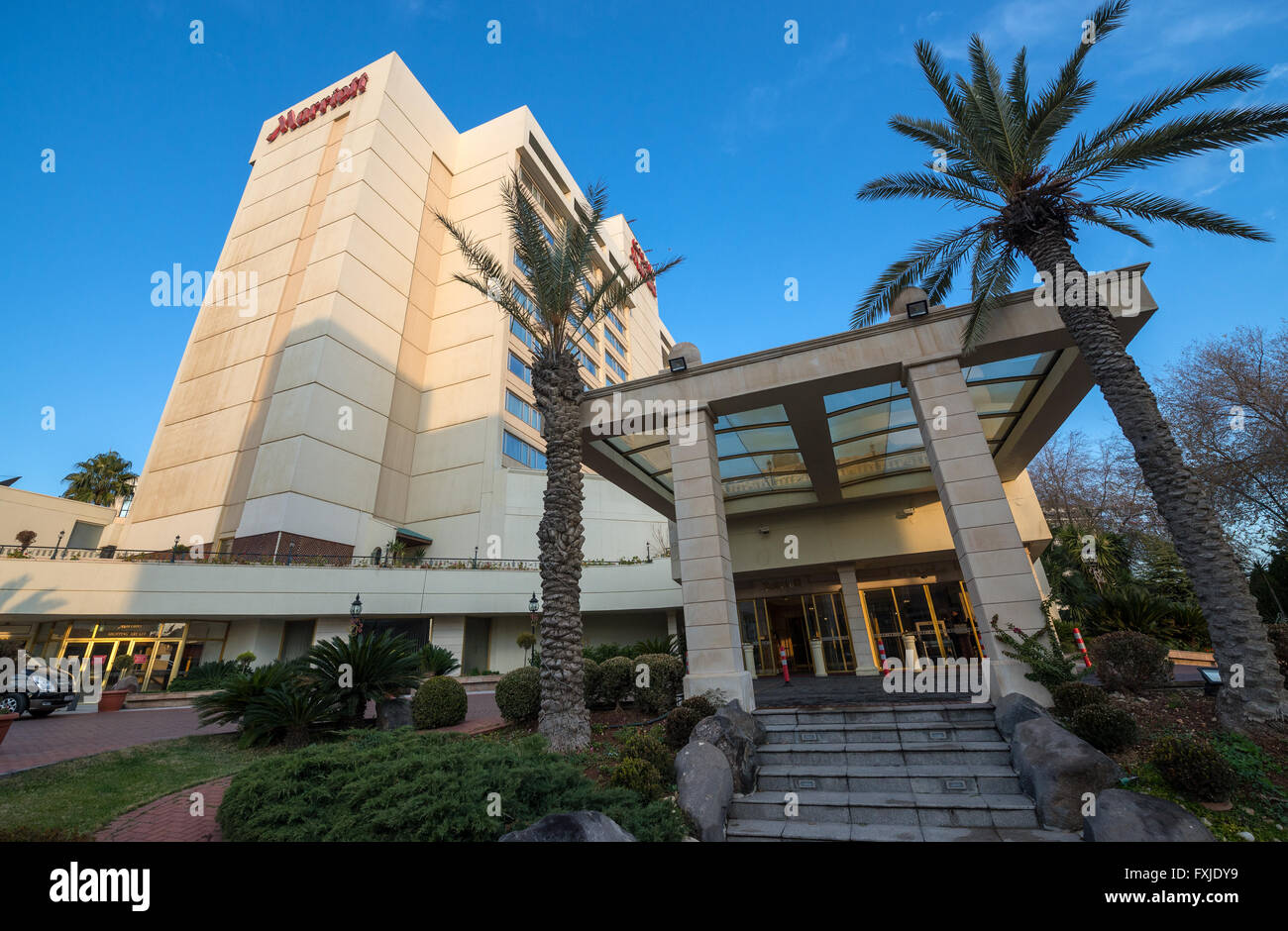 Amman Marriott Hotel In Amman City Capital Of Jordan
