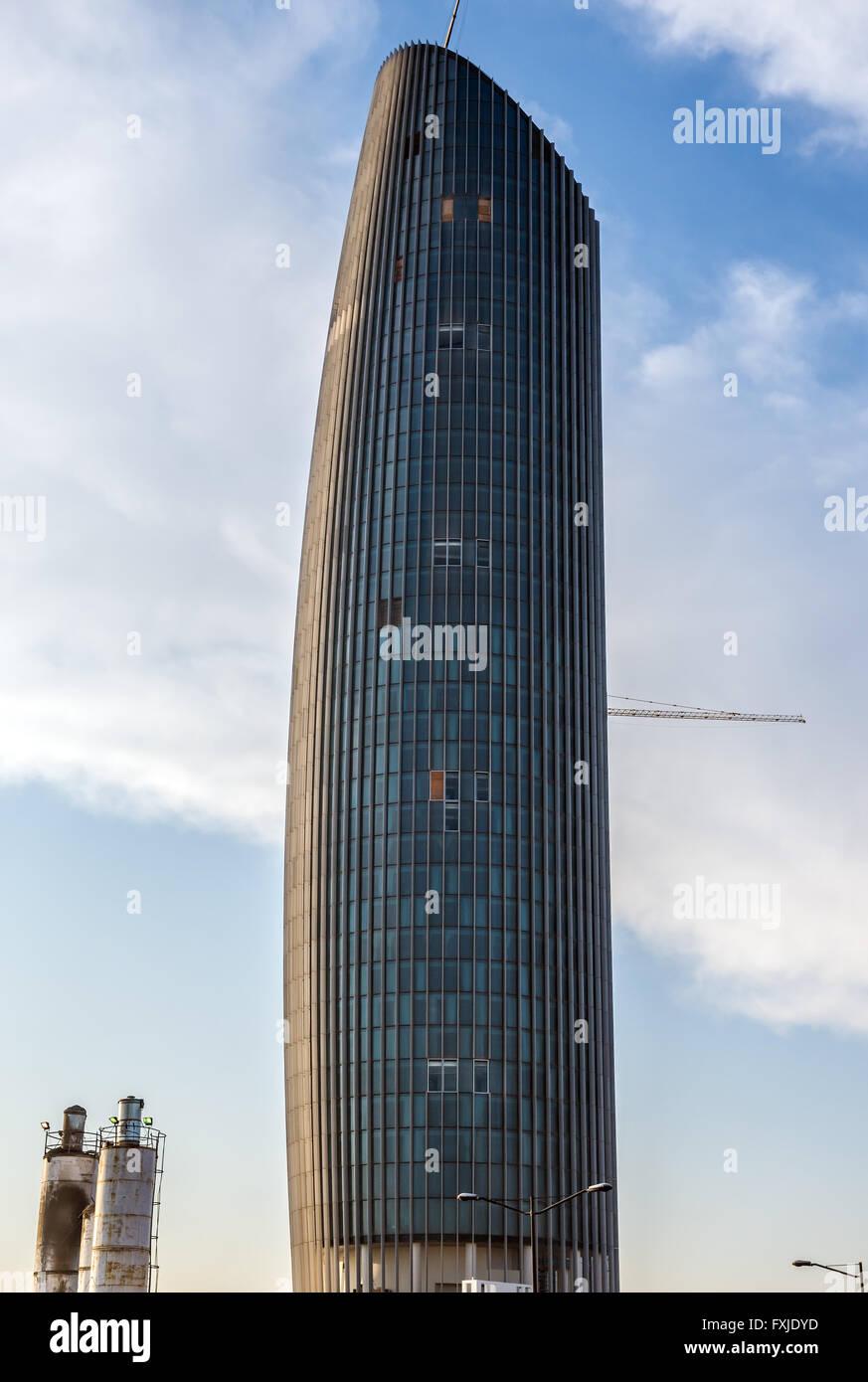 Amman Rotana Hotel Tower Part Of Abdali Project In City Capital Jordan