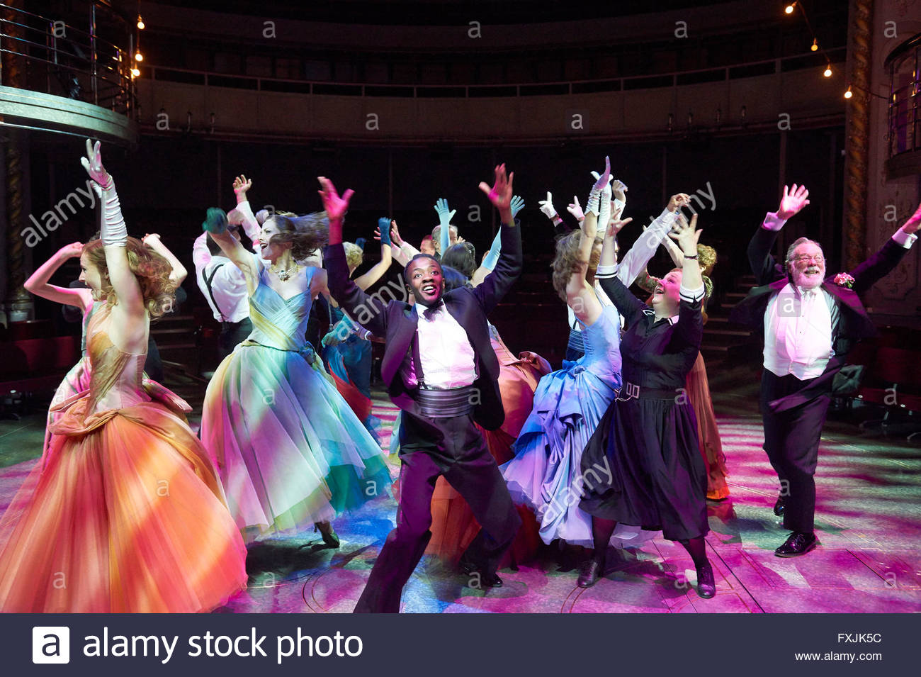 High Society . Music and Lyrics by Cole Porter . Book by Arthur Kopit, directed by Maria Friedman. Opens at the - Stock Image