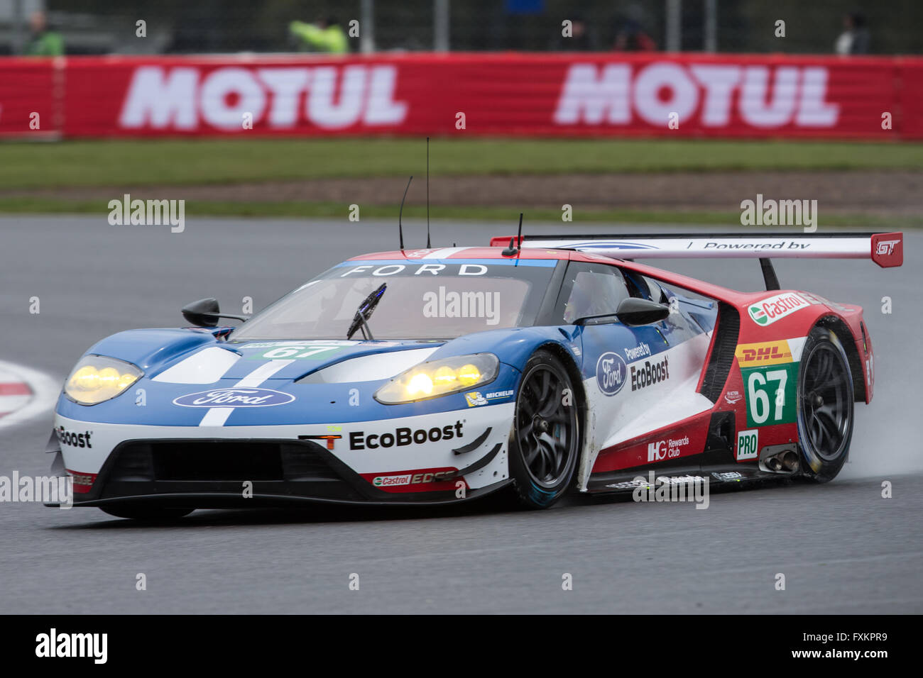Fia World Endurance Championship  Hours Of Silverstone Qualifying Ford Chip Ganassi Team Uk Ford Gt Lmgte Pro Driven By Marino Franchitti Andy Priaulx