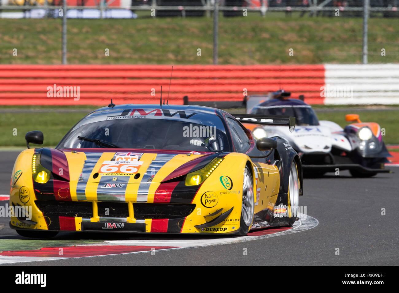 Silverstone, UK. 16th Apr, 2016. European Le Mans Series, Round 1 ...
