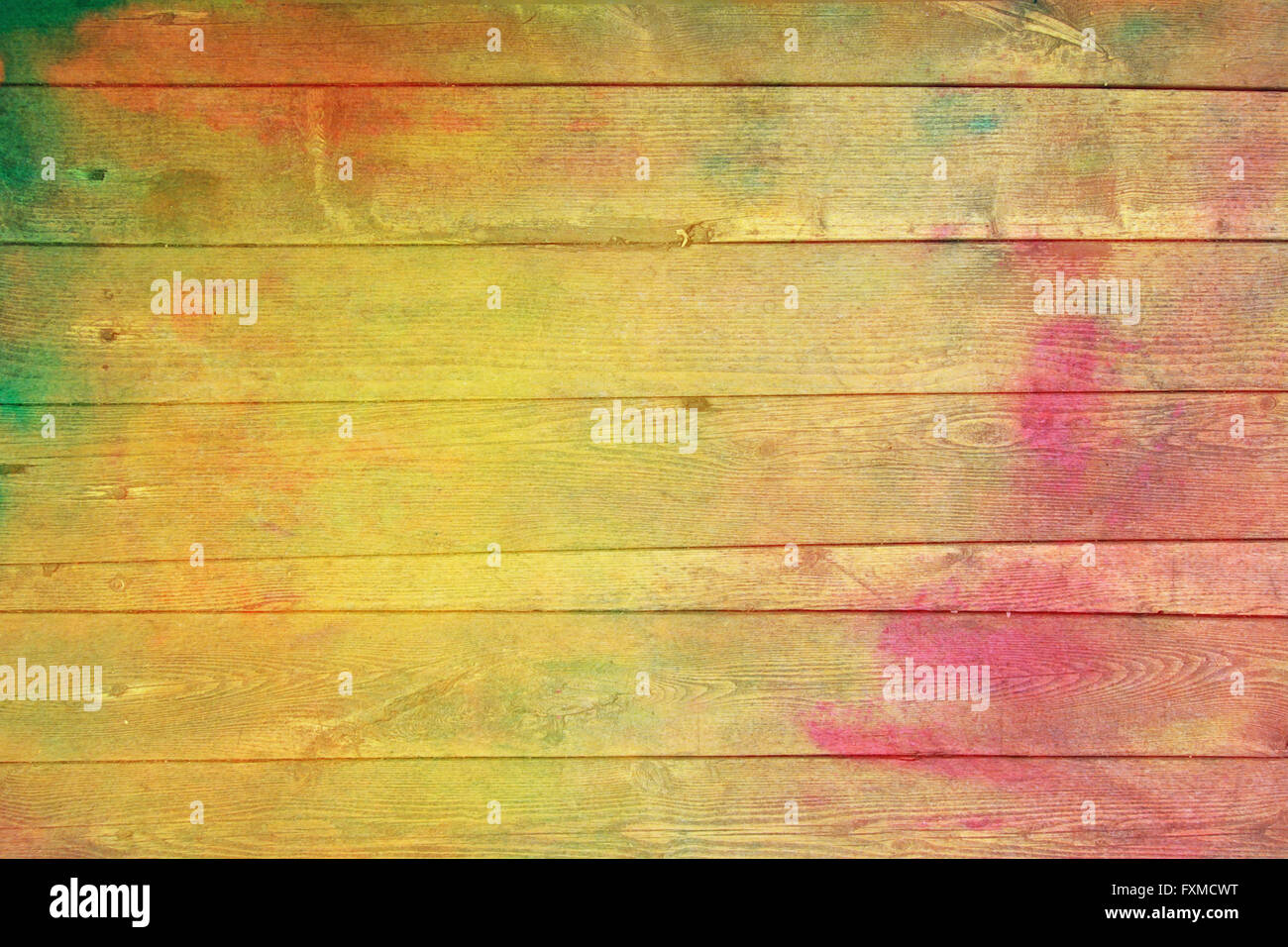 Old wooden painted wall: Abstract textured background with red Stock ...