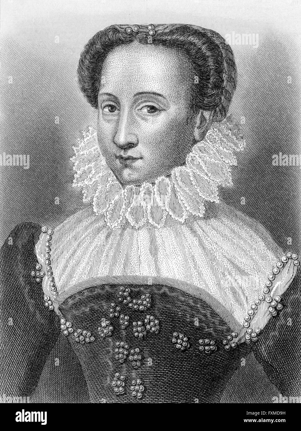 Eléonore de Montmorency, Vicomtesse de Turenne, 16th Century - Stock Image
