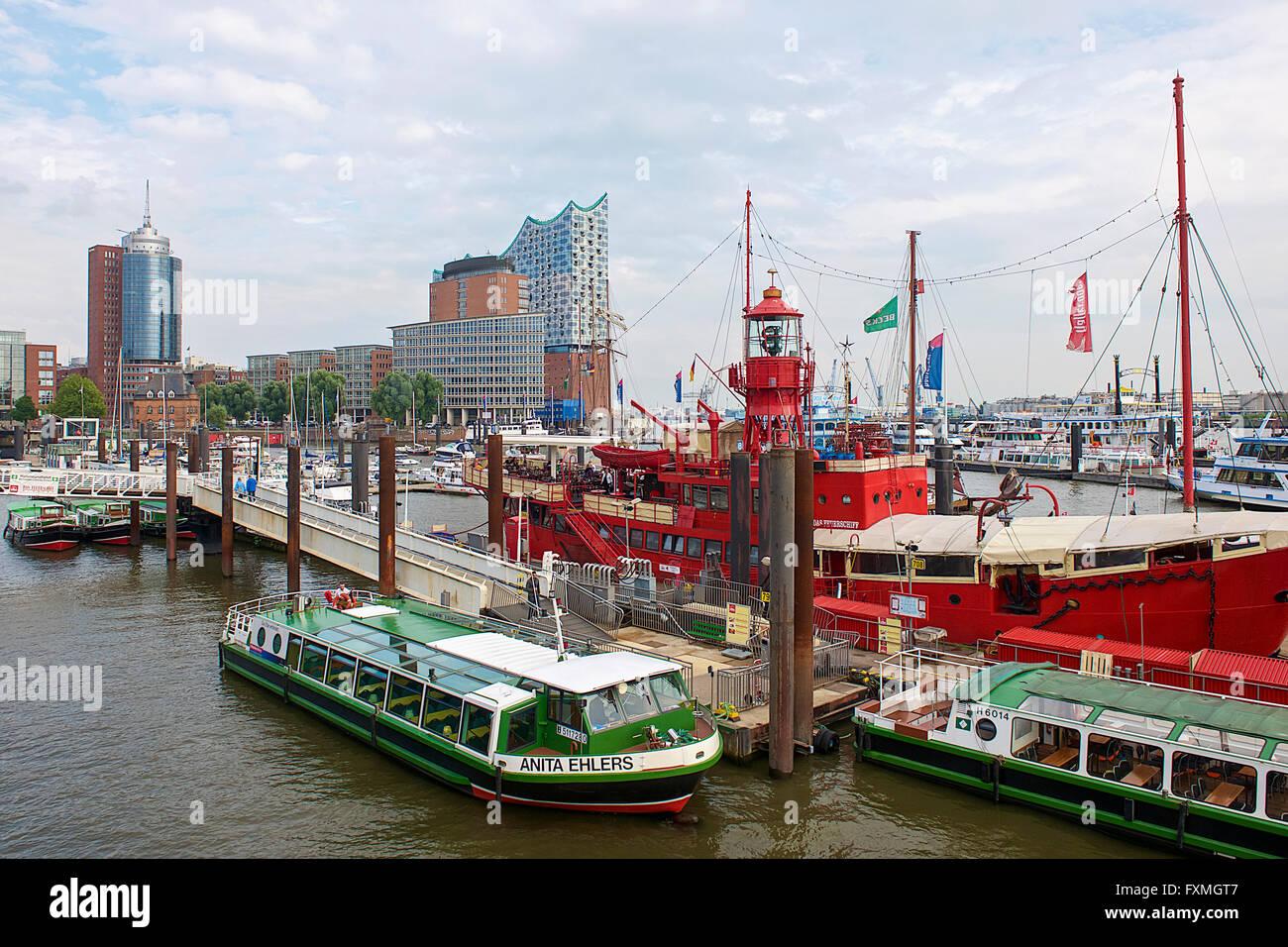HafenCity, Hamburg, Germany - Stock Image