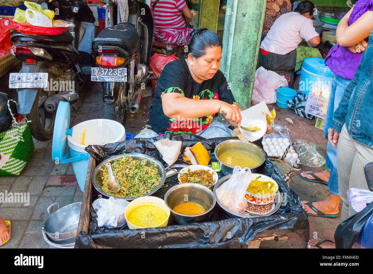 Street Food In Ubud Bali Indonesia Stock Photo 102485445