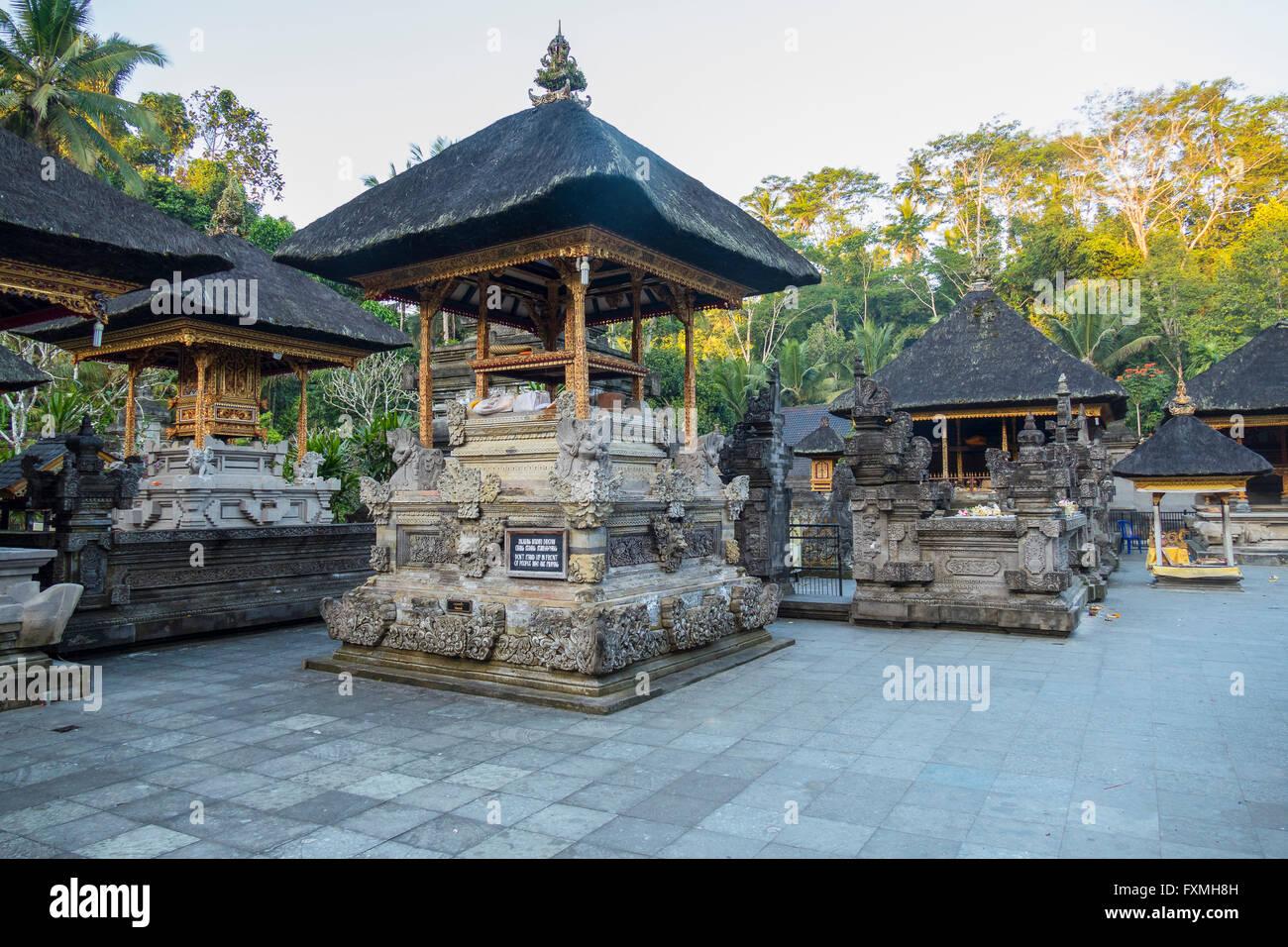 Pura Tirta Empul Temple, Ubud, Bali, Indonesia - Stock Image