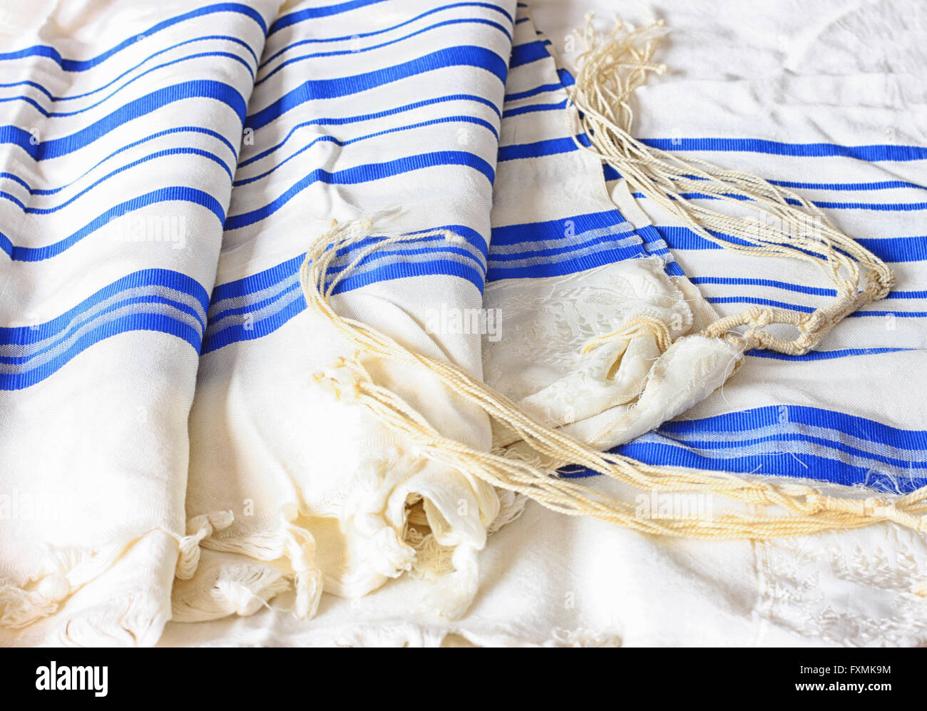 Prayer Shawl Tallit Jewish Religious Stock Photos Prayer Shawl