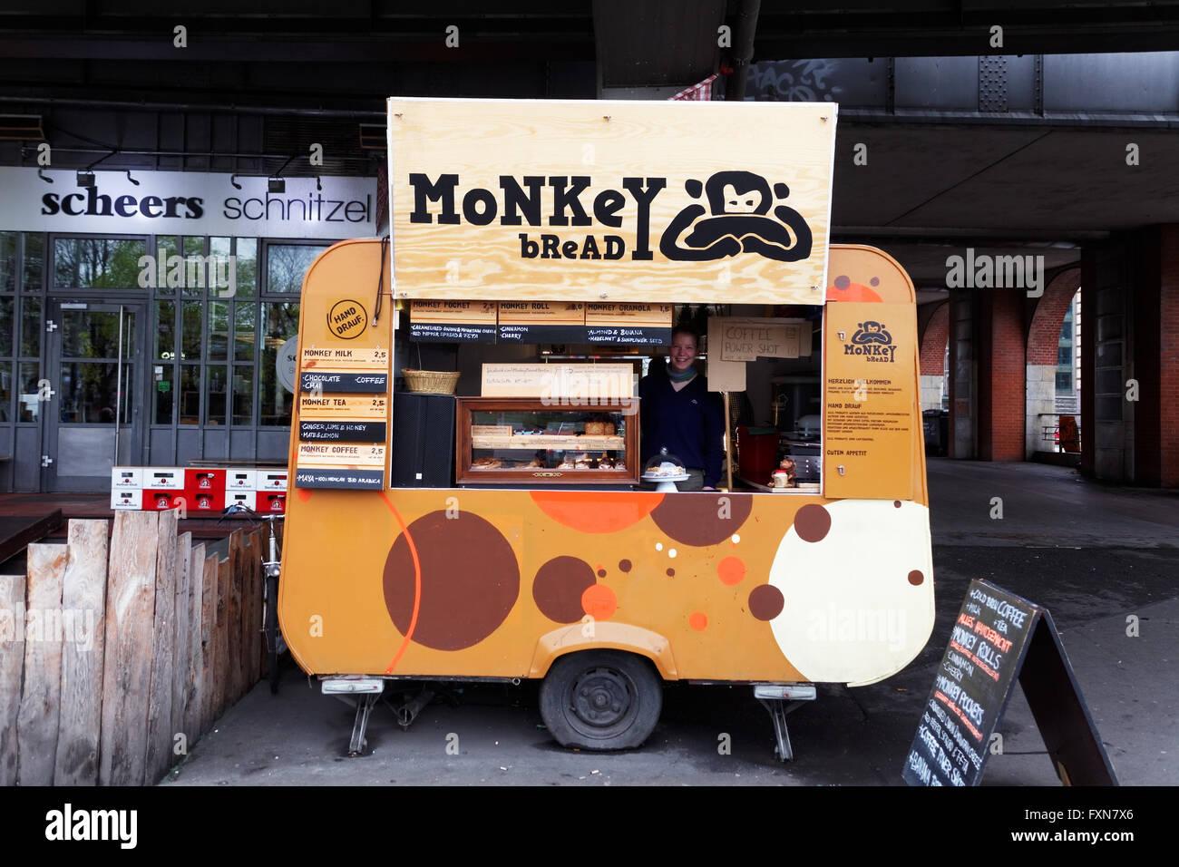 Monkey bread, Berlin, Germany - Stock Image