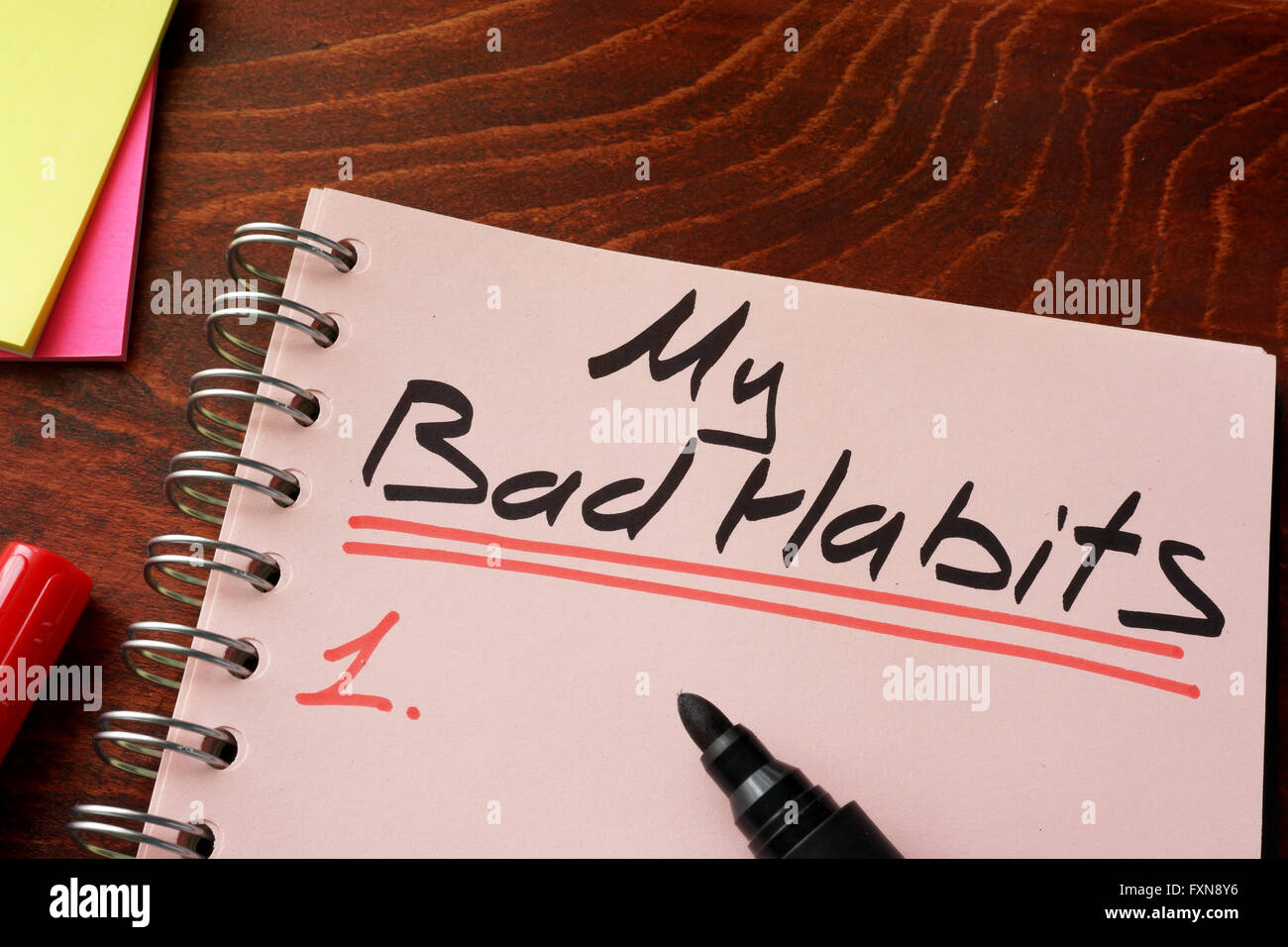 my bad habits Bad habits habits are either good or badeven good habits, if given free play, may turn into bad ones for example, reading is a good habitit helps in acquiring knowledge, in meaningful use of leisure time and healthy entertainment but excess of reading books, magazines etc, is harmful.
