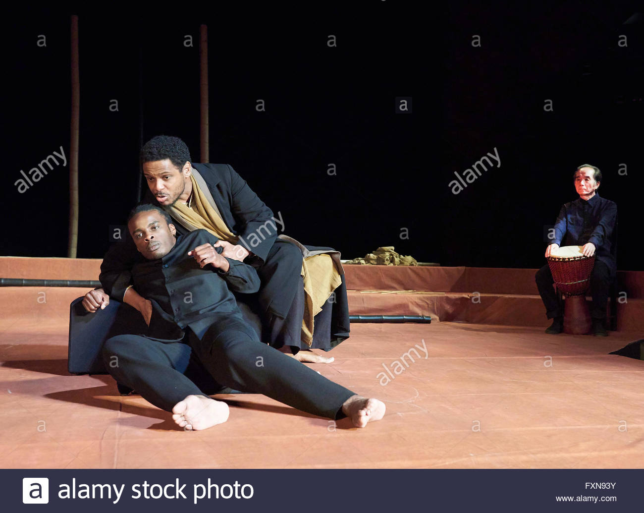 Battlefield. Based on the Mahabharata and the play by Jean Claude-Carriere. Adapted and directed by Peter Brook - Stock Image