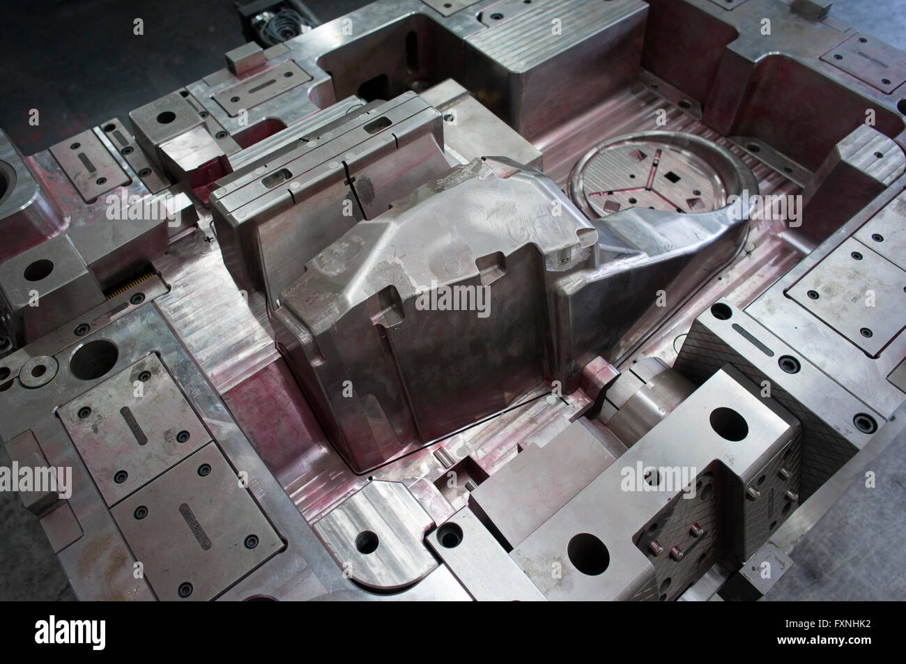 injection mould - Stock Image