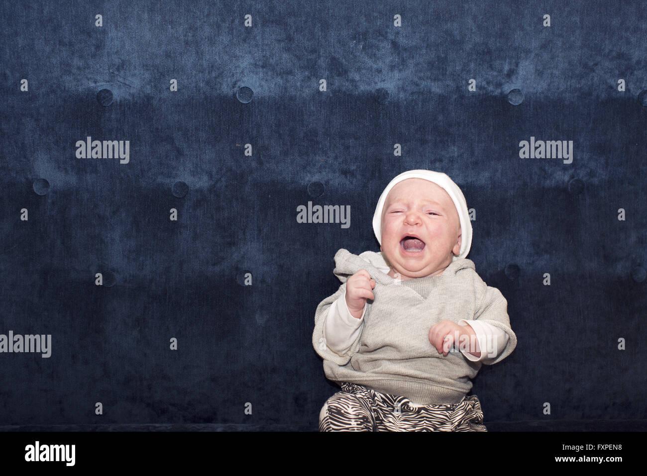Baby, portrait - Stock Image