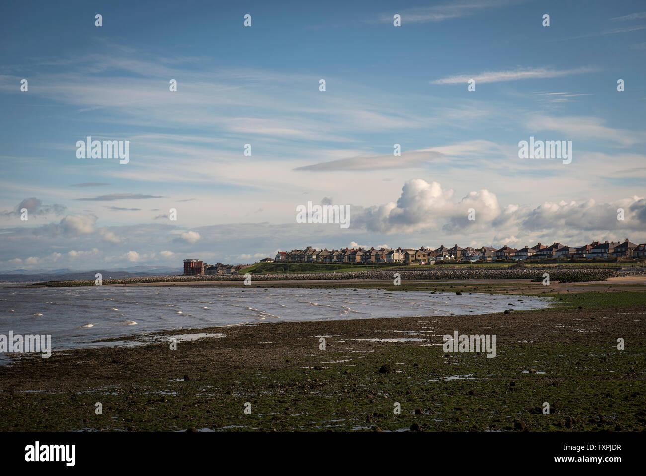 Heysham, Morcambe Bay, Lancashire, UK Stock Photo