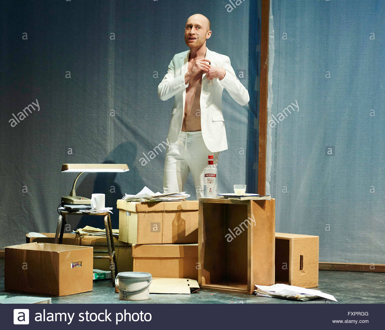 Doctor Faustus by Christopher Marlowe, A Royal Shakespeare Company Production directed by Maria Aberg. With Sandy - Stock Image