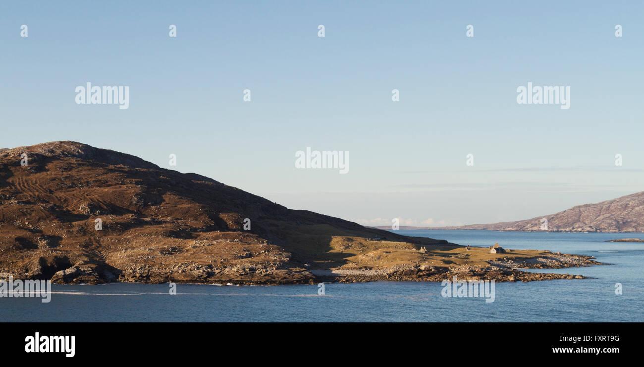Hebridean Island of Scarp - Stock Image