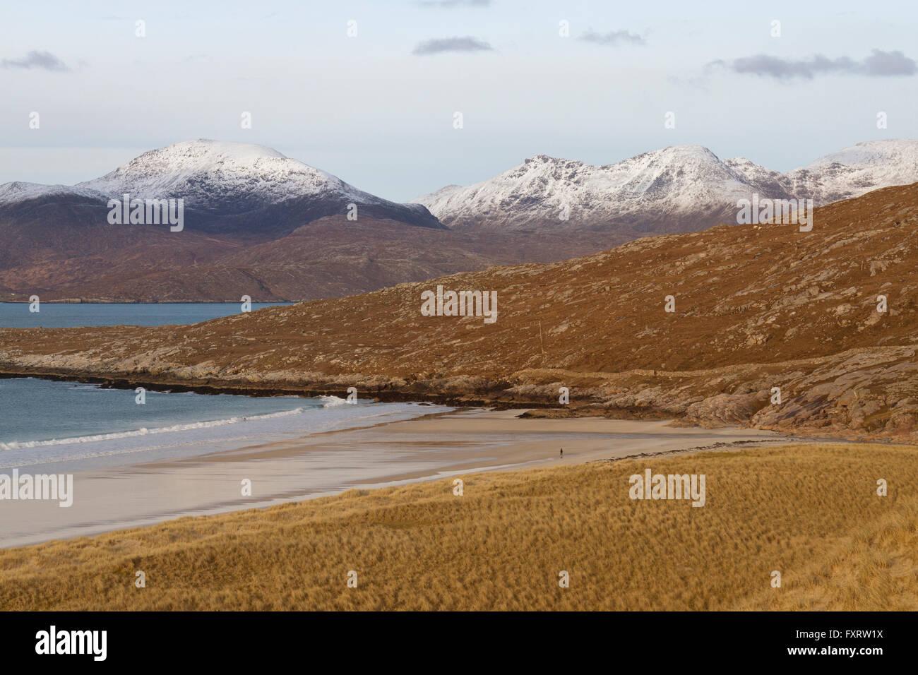 Luskentyre Beach, Isle of Harris - Stock Image