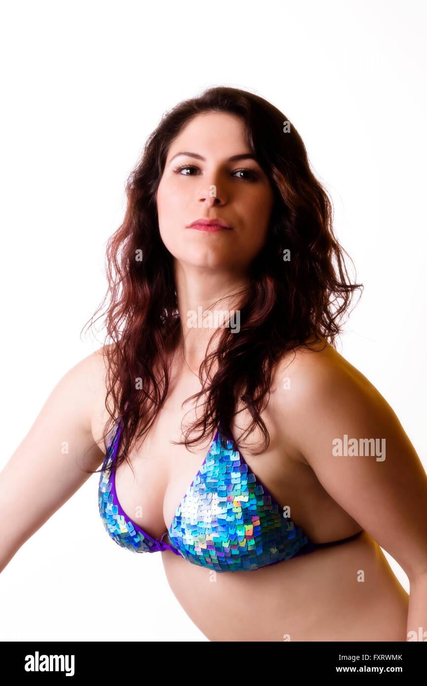 Attractive Pretty Cleavage Stock Photos Attractive Pretty