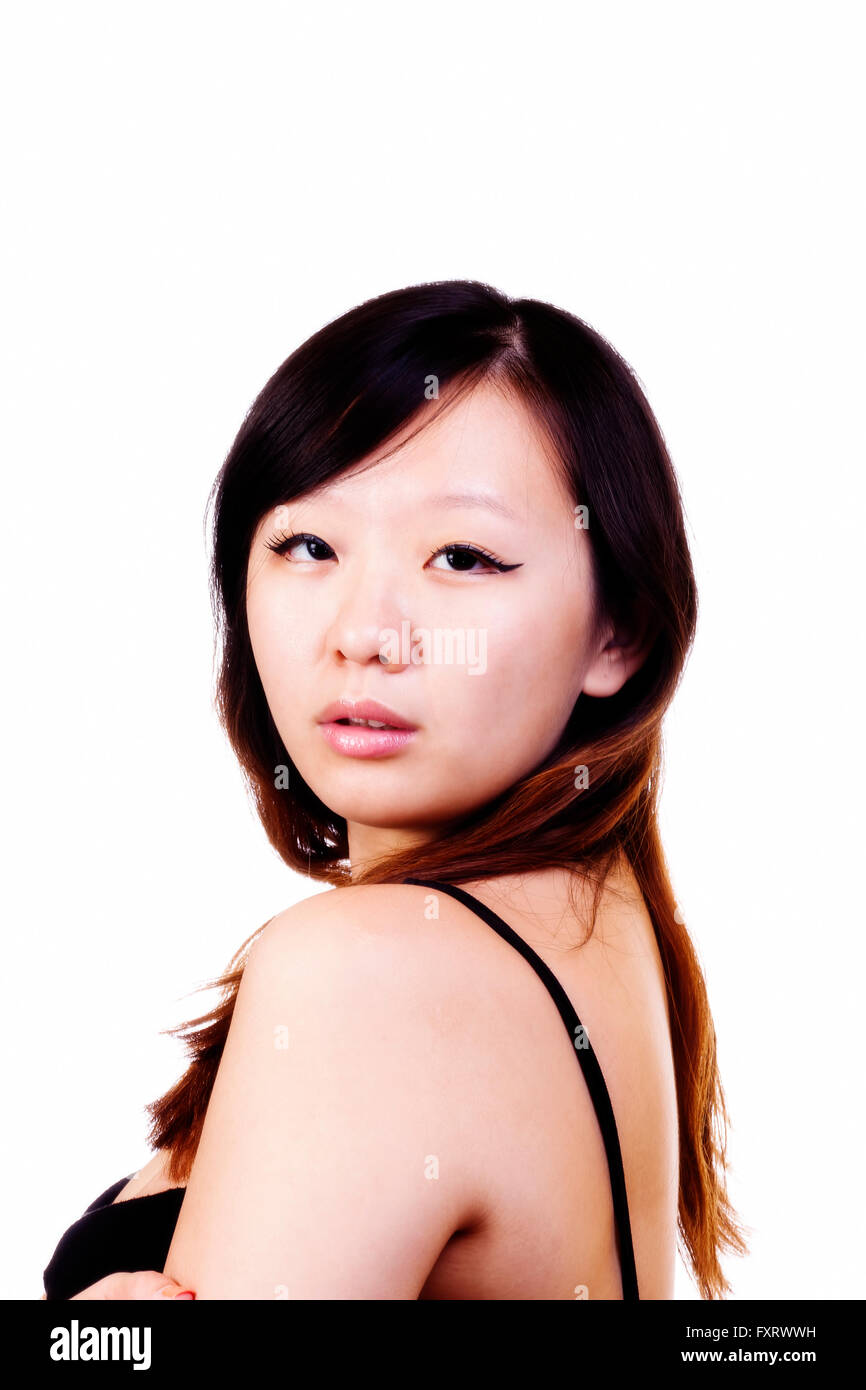 Attractive chinese woman