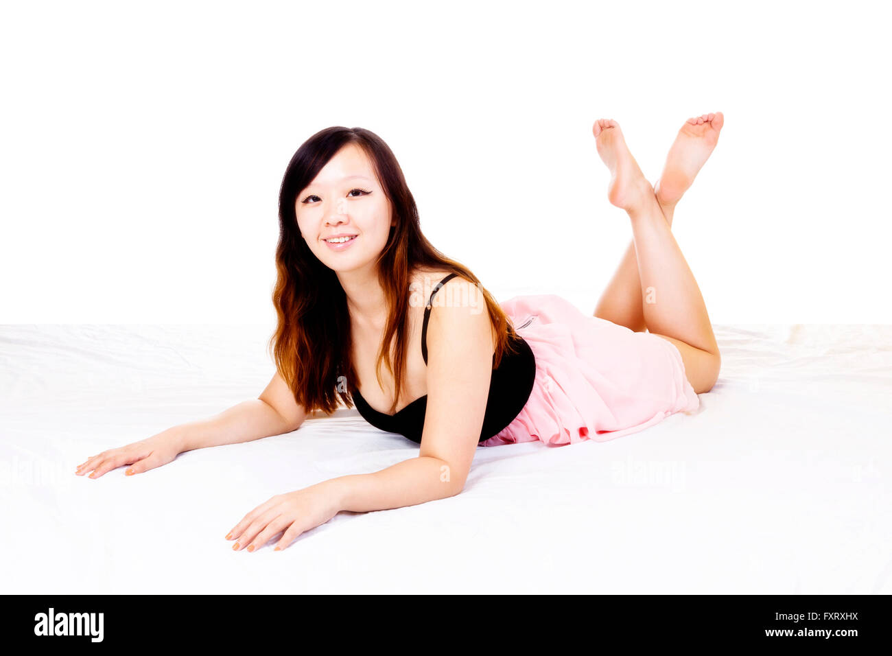 0dd8e2120 Bare Feet Young Asian Woman Stock Photos   Bare Feet Young Asian ...